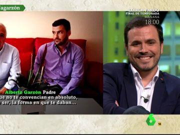 La familia de Alberto Garzón le sorprende con un vídeo