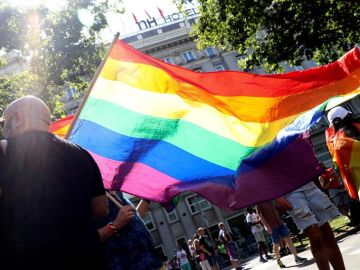 Madrid se tiñe de arcoiris por el Orgullo LGTBI