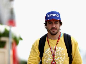 Fernando Alonso, en Silverstone