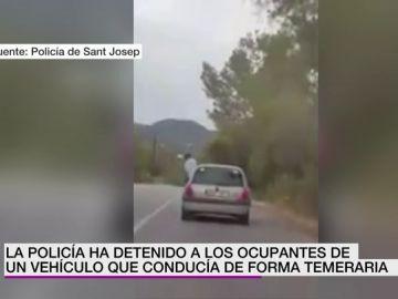 Conducción temeraria en Ibiza