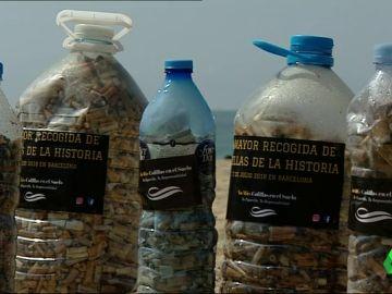 Comienza la mayor recogida de colillas para denunciar el peligro medioambiental