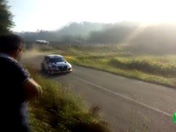 Muere un espectador de un rally de Pontevedra tras ser arrollado por un vehículo