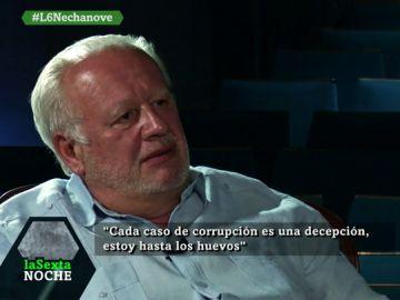 Juan Echanove en laSexta Noche