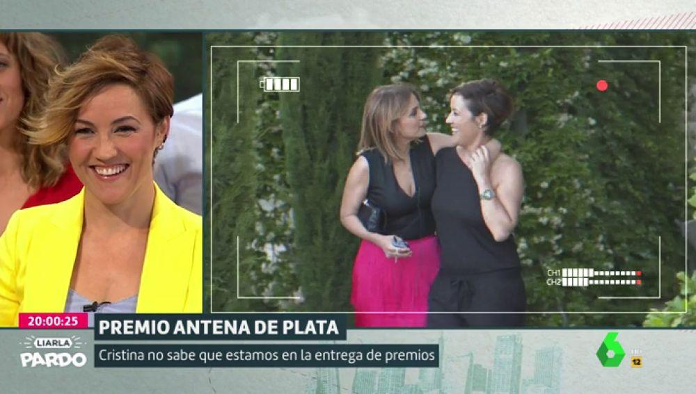 Cristina Pardo y Lourdes Maldonado