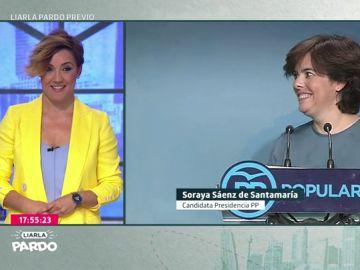 Cristina Pardo y Soraya Sáenz de Santamaría