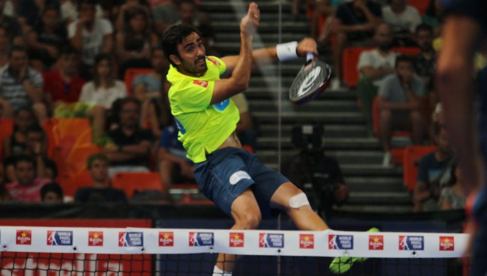 Pablo Lima en acción