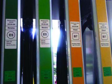 Etiquetado de combustible