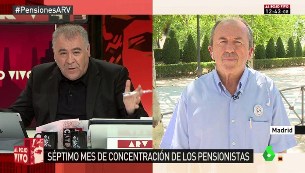 """Leopoldo Pelayo: """"Los pensionistas de ahora y del futuro no permitiremos que se deteriore el sistema público de pensiones"""""""