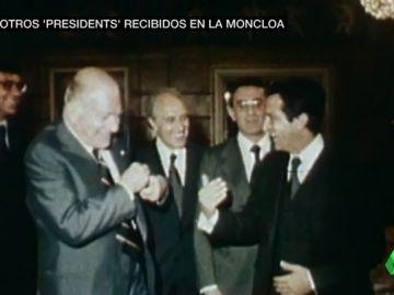 De Tarradellas a Mas: todos los presidentes catalanes que pasaron por Moncloa y se fueron con las manos vacías (excepto Pujol)