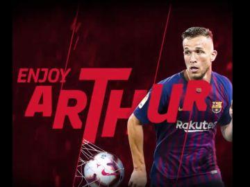 Arthur, nuevo jugador del FC Barcelona