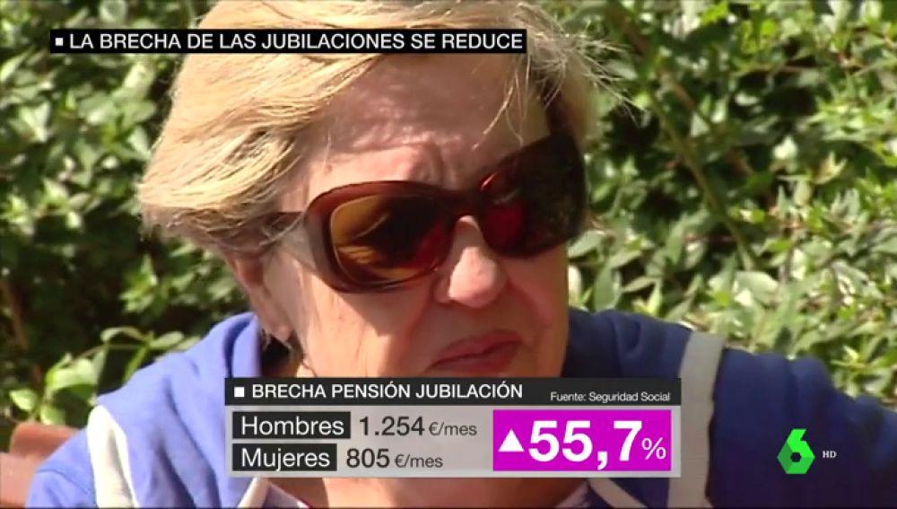Imagen de una pensionista