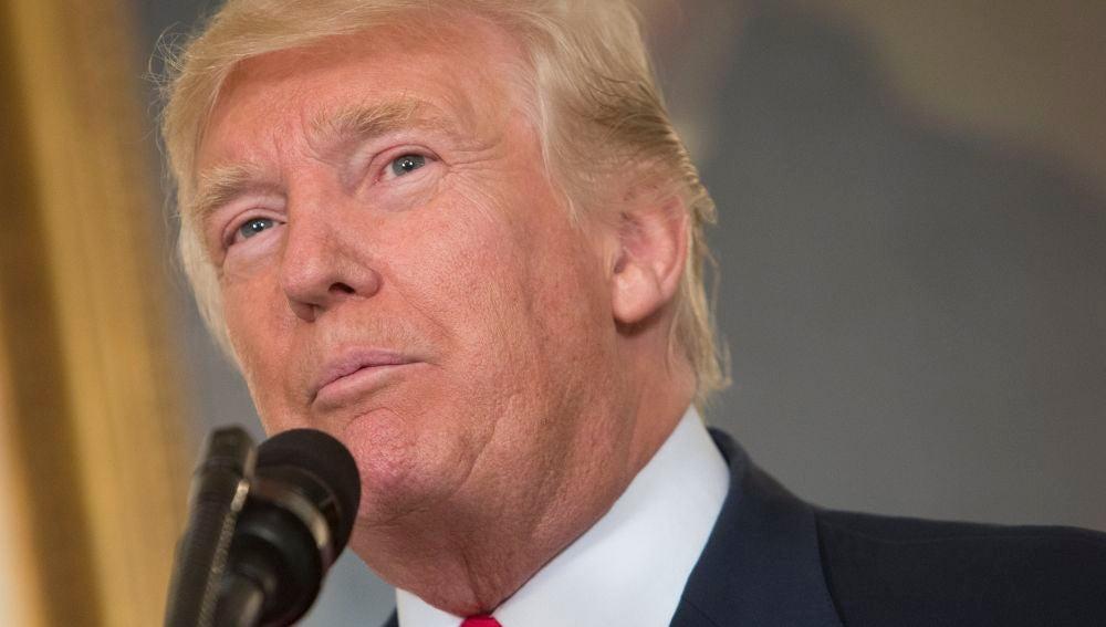 En la imagen, el presidente estadounidense, Donald J. Trump.