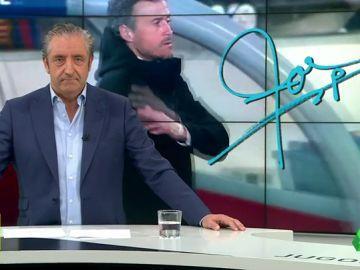 """Josep Pedrerol: """"Pedimos que Luis Enrique sea el seleccionador… de todos""""."""