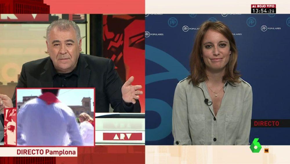 """Andrea Levy, sobre las primarias en el PP: """"Los resultados del partido en Cataluña me llevan a hacer autocrítica"""""""