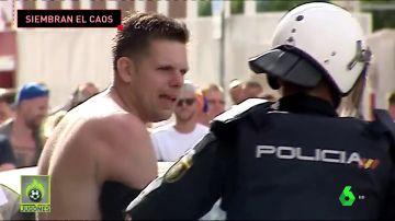 hooligans siembran el caos