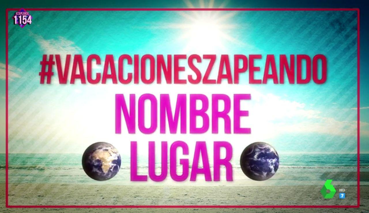 ¡Grábate disfrutando de tus vacaciones con un videoselfie y aparece en el espectacular videoclip del verano de Zapeando!
