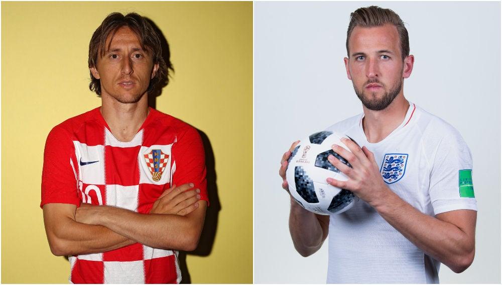 Croacia vs Inglaterra en el Mundial de Rusia