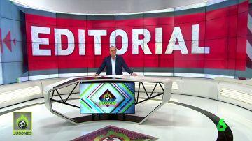 """Josep Pedrerol: """"Quiero pensar que Rubiales está pagando la novatada"""""""
