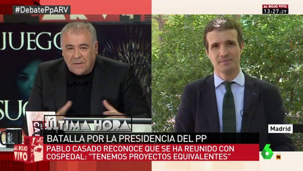 """Al Rojo Vivo (10-07-2018) Pablo Casado: """"Yo soy el que me he partido la cara por el PP en los platós a los que nadie quería ir"""""""