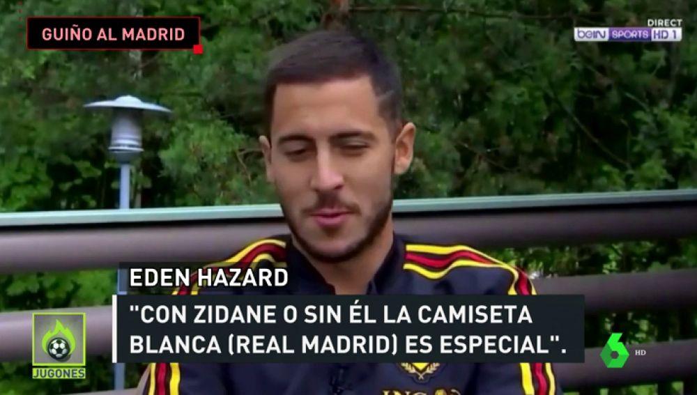 """Hazard: """"Con o sin Zidane, la camiseta del Real Madrid es especial"""""""