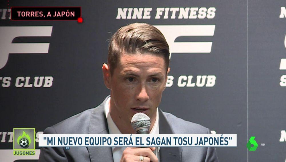 Fernando Torres anuncia que se va a Japón: fichará por el Sagan Tosu