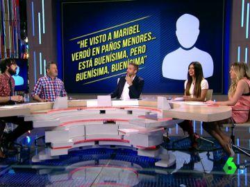 """""""He visto a Maribel Verdú en paños menores y está buenísima"""": los zapeadores, cara a cara contra sus comentarios pasados"""