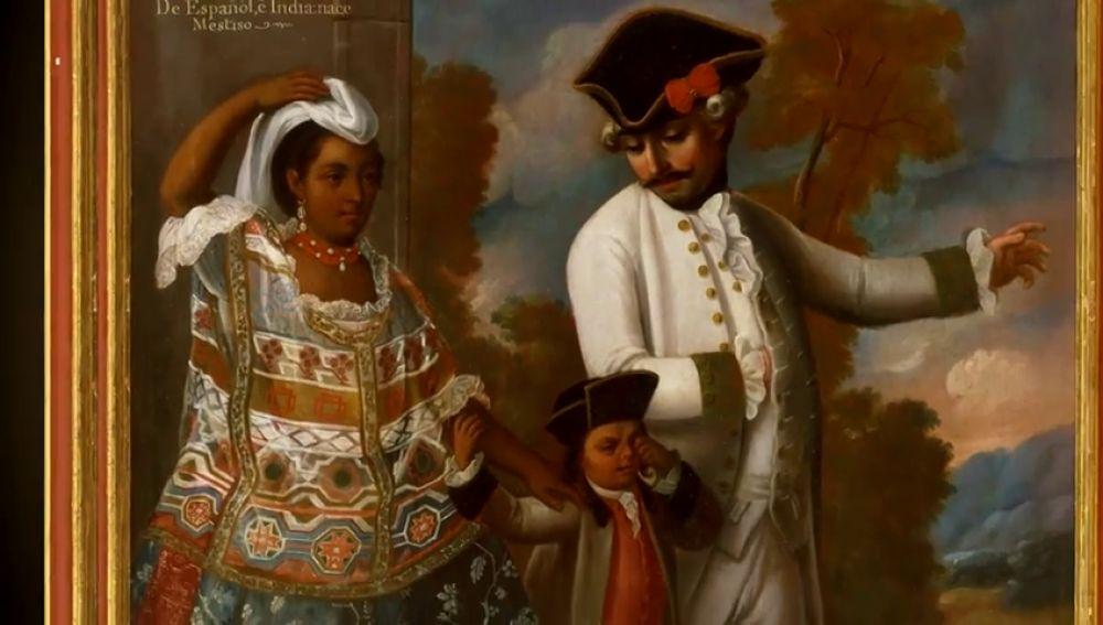 La pintura de castas del siglo XVIII: Castizos, jíbaros, tentes en el aire o no te entiendos