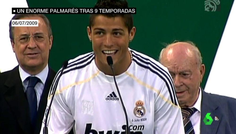 La demoledora estadística de Cristiano Ronaldo: 1,03 goles por partido en nueve años de blanco