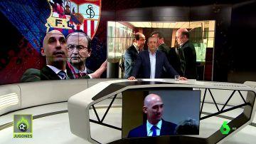 Luis Rubiales y Pepe Castro 'enzarzados' en la radio
