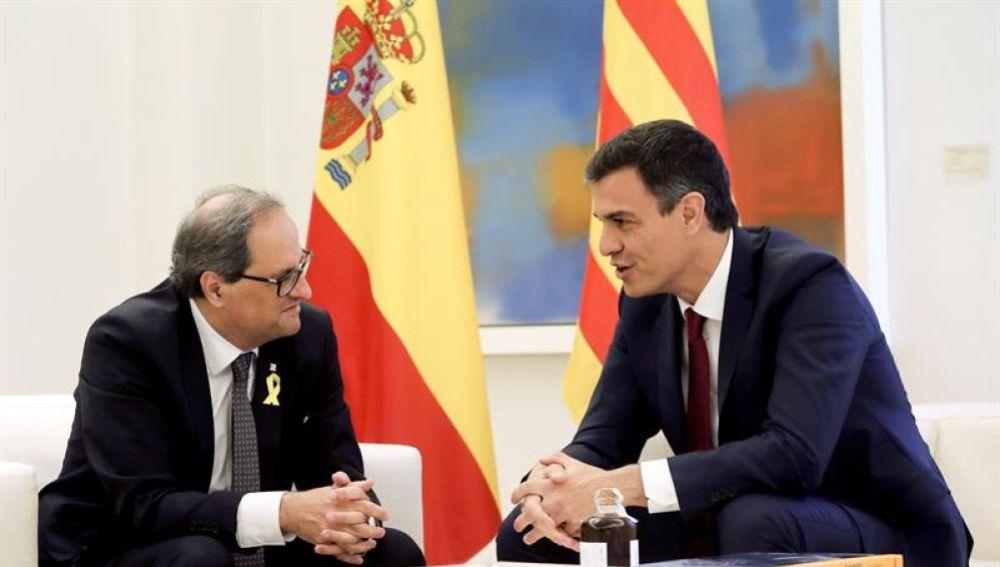 """Noticias de la mañana (10-07-18) Torra recalca a Sánchez que su gobierno """"no renuncia a ninguna de las fórmulas para llegar a la independencia"""""""