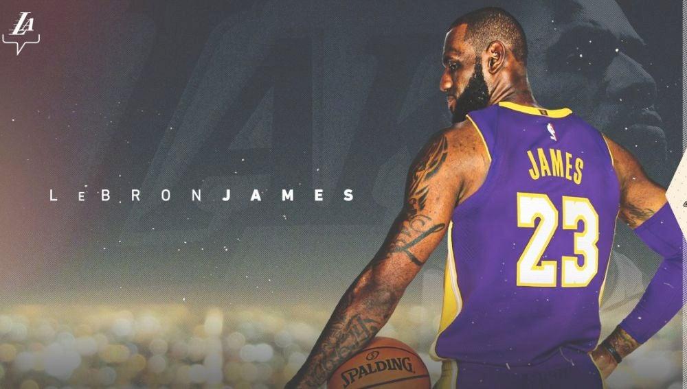 Así anuncian los Lakers la llegada oficial de LeBron