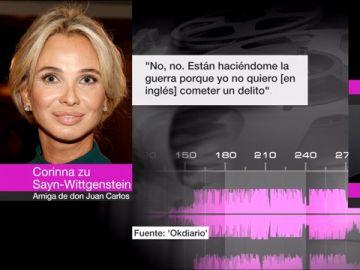 Conversaciones de Corinna con el comisario Villarejo