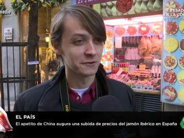 Encuesta sobre el jamón ibérico en El Intermedio