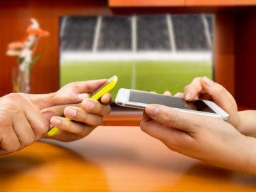 Compartir datos entre móviles