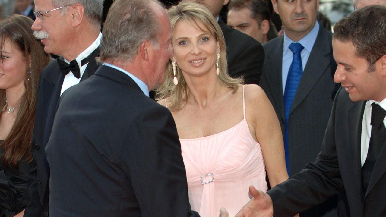 Corinna en una imagen de archivo junto al Rey Juan Carlos
