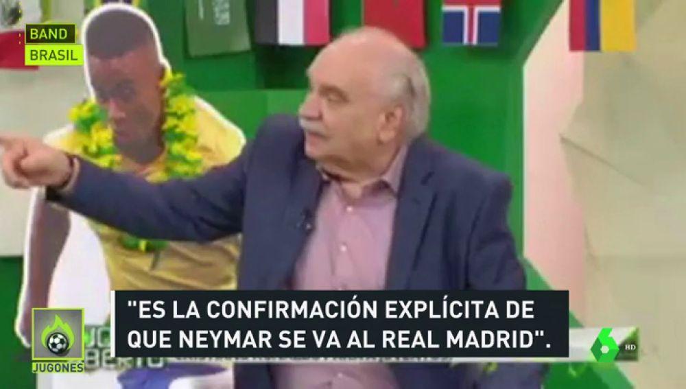 """En Brasil dan por hecho que Neymar será el sustituto de Cristiano: """"Es la confirmación de que va a ir al Madrid"""""""