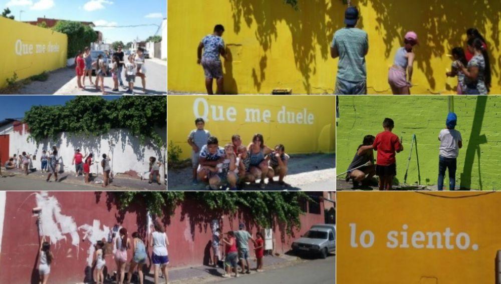 'Boa Mistura' llena de color la Cañada Real