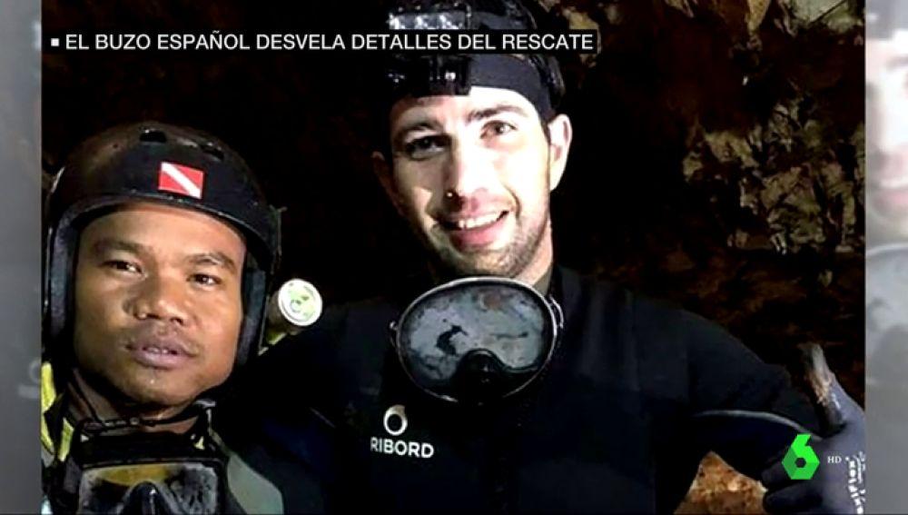 LaSexta habla con el buzo español que participó en el rescate de los niños en Tailandia