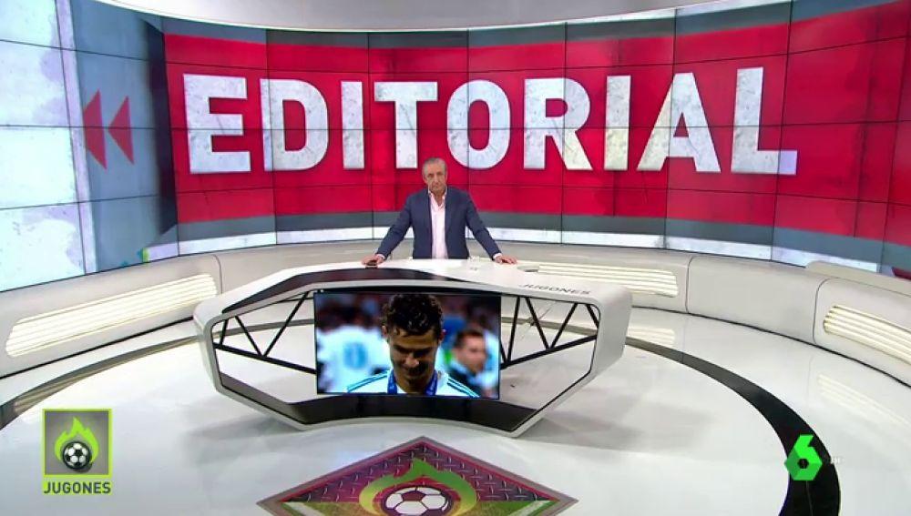 """Josep Pedrerol: """"Muy pronto será el Real Madrid el que sonría"""""""