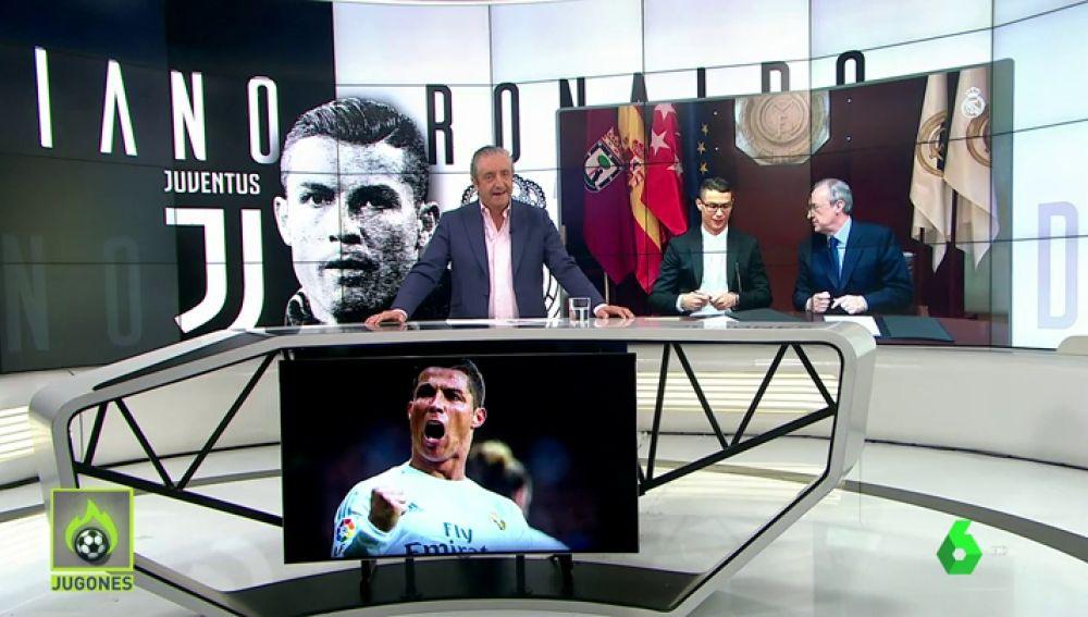La afición despide al 'astro' portugués