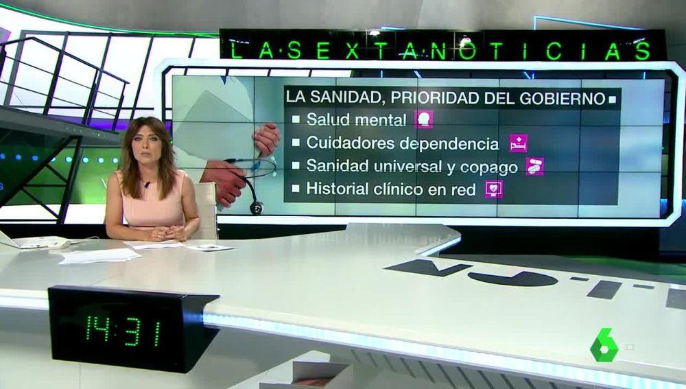 La Sanidad, prioridad del Gobierno de Pedro Sánchez