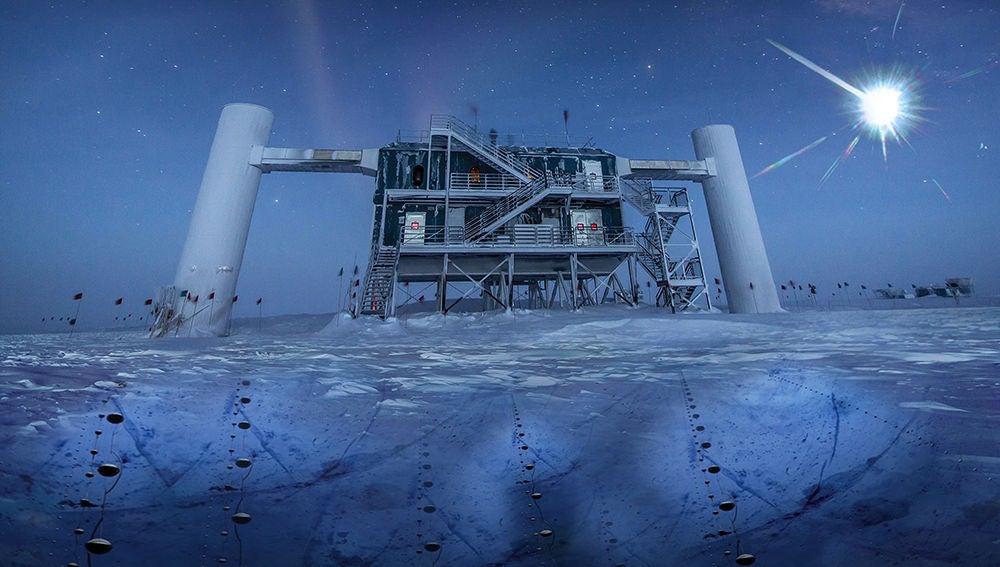 Descubrimiento historico de una fuente de particulas fantasma de alta energia