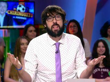 """El análisis de Quique Peinado a """"la epístola de Cristiano a los chiringuitenses"""": """"Se acordaba del nombre de todos los de El Chiringuito"""""""
