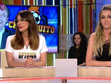 """""""Desagradecida, desarraigada"""": el divertido 'pique' de Anna Simon con Ana Morgade por sus palabras sobre Zapeando"""