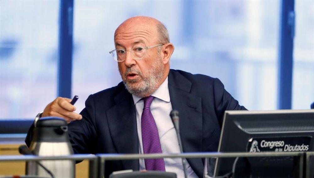 El expresidente del Banco Popular, Emilio Saracho