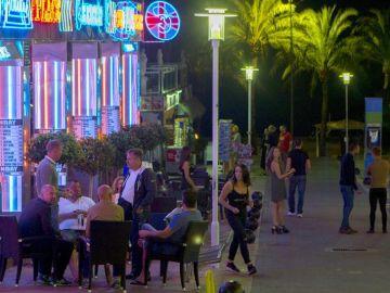 Noche en Palma de Mallorca
