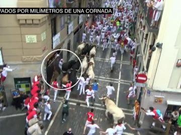 Sexto encierro de San Fermín 2018: la carrera de los milagros o el ejemplo de cómo no correr ante un toro