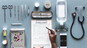 lista de comprobación médica