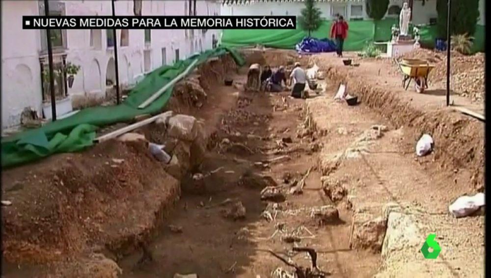 Nuevas medidas para la memoria histórica