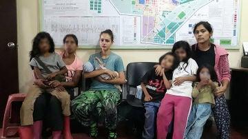Las tres mujeres retenidas con sus hijos por Gnosis, entre ellas Patricia Aguilar